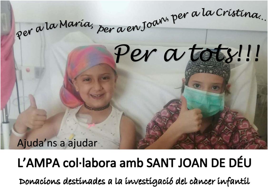 Xocolatada solidària - Lluita contra el càncer infantil